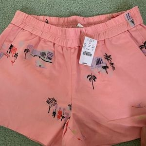 NWT JCREW FACTORY PINK SHORTS
